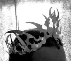Darkelf crown -side by fairyfrog