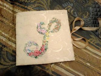 Silk ribbon embroidery case