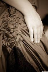 Silk rose detail