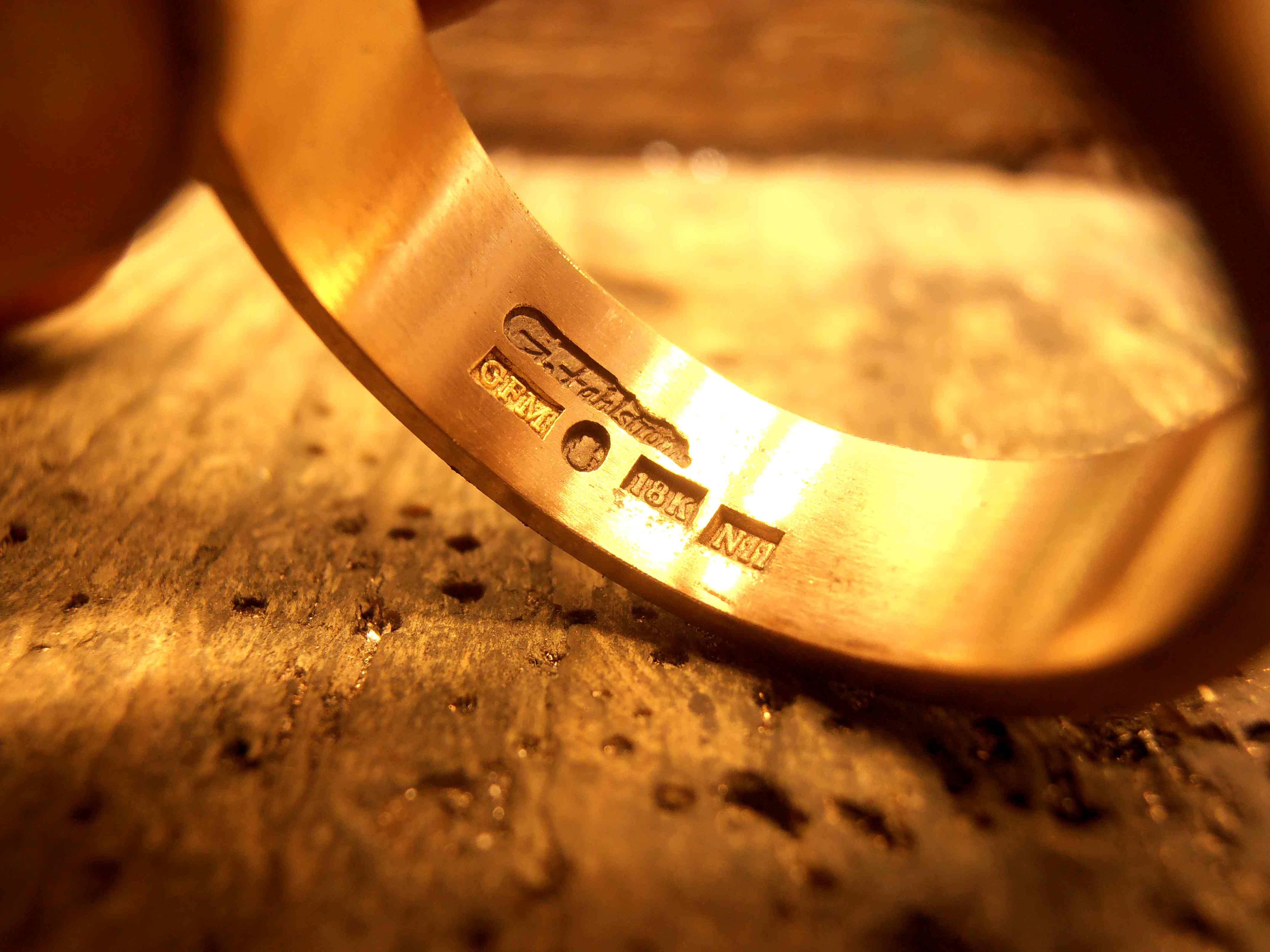 Gold ring stamp macro by fairyfrog on deviantart for What does hallmarked mean on jewelry