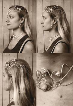 Old headdress photoshoot