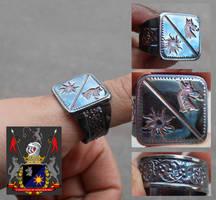 Claudius Celestinii Signet ring by fairyfrog