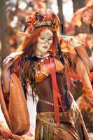 Ember the fire elemental by fairyfrog