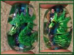 Sea dragon glass focals