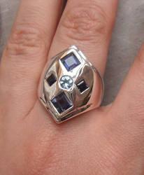 Magpie Treasure ring