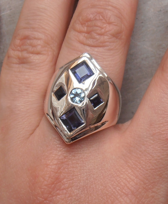 Magpie Treasure ring by fairyfrog