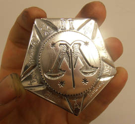 Auror class II badge - Ministry of Magic insignia