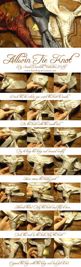 The Allwin tie knot Tutorial