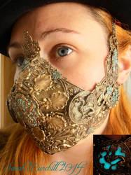 Lady Bane Steampunk Respirator