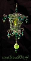 Absinthe Fairy lantern - ornament