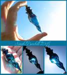 Sky blue flacon