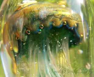 Jellyfish Elder God close-up by fairyfrog