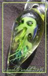 'Cutehulhu' Cthulhu glass pendant