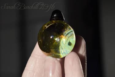 Ickle Terra - marble pendant by fairyfrog