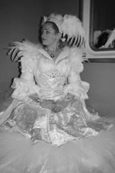 Tuonela Swan gown
