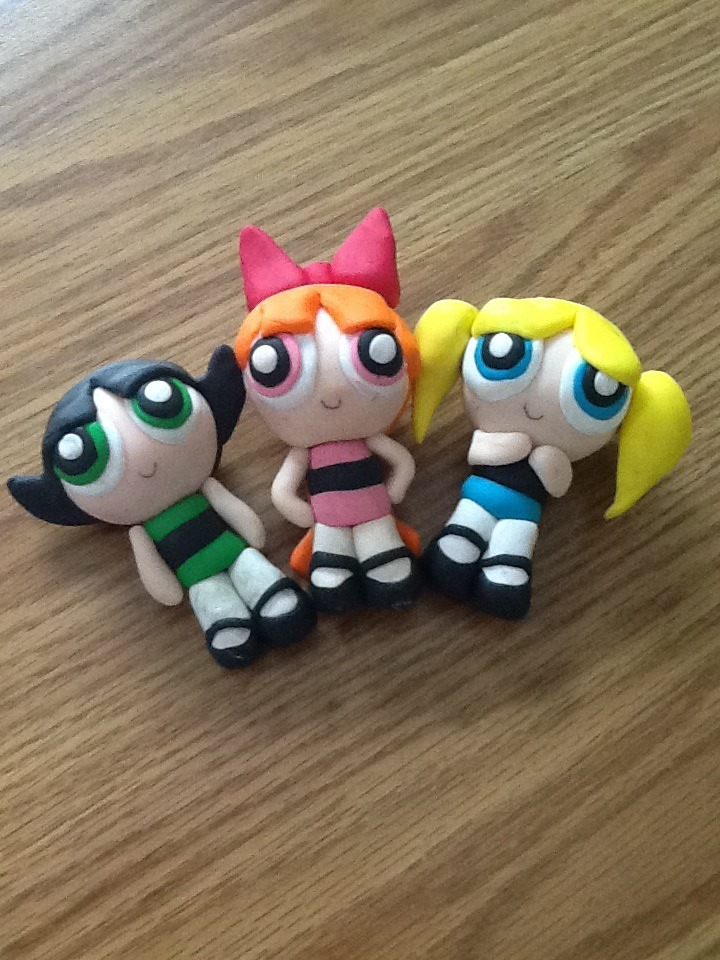 Powerpuff Clay Dolls By Kareena08 On Deviantart