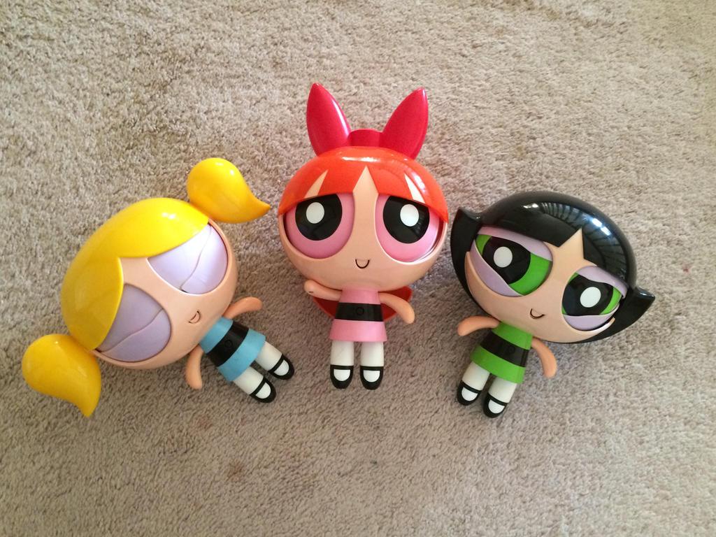 Powerpuff Girls Toys : My powerpuff robotic dolls by kareena on deviantart