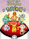 Happy 25th Anniversary Pokemon!