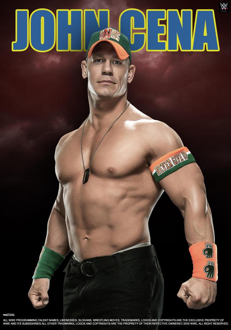 WWE John Cena 2016 Poster by edaba7 on DeviantArt