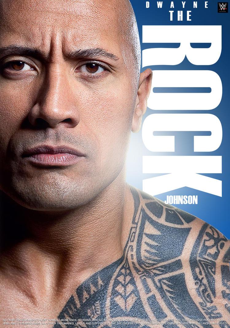 WWE Dwayne The Rock Johnson 2016 Poster by edaba7 on ...
