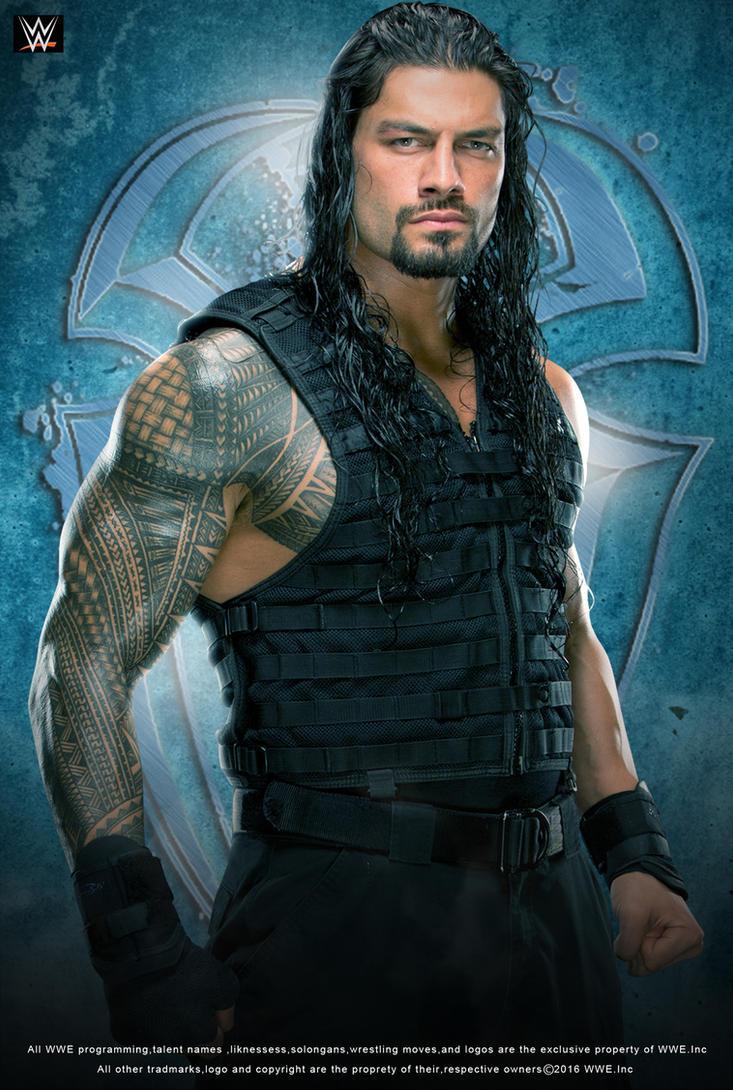 WWE Roman Reigns 2016 Poster by edaba7 on DeviantArt