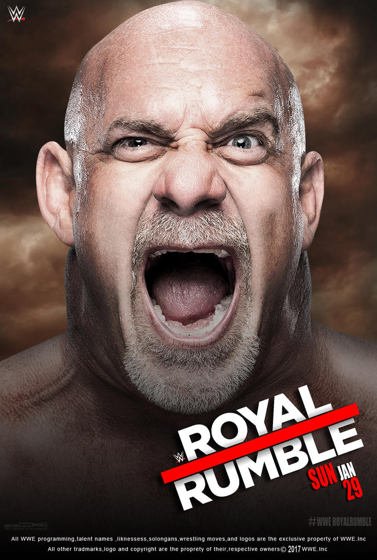 WWE Royal Rumble 2017 Poster by edaba7