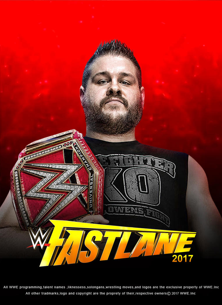 WWE Fastlane 2017 Poster V2 by edaba7
