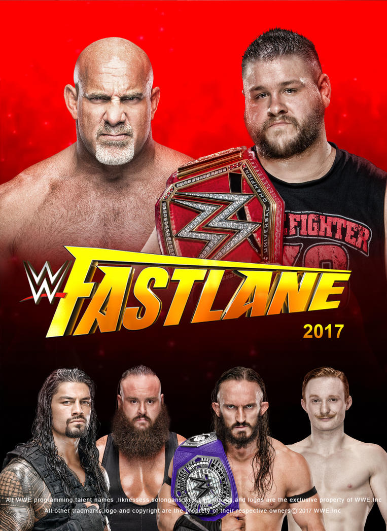 WWE Fastlane 2017 Poster V3 by edaba7