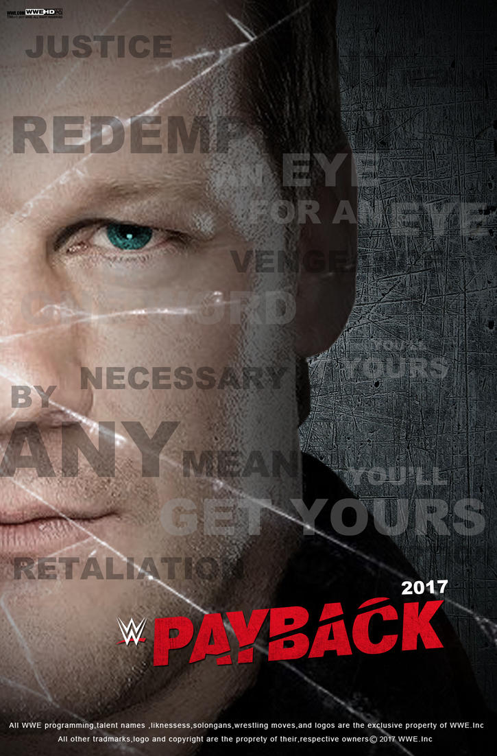 WWE Payback 2017 Poster by edaba7
