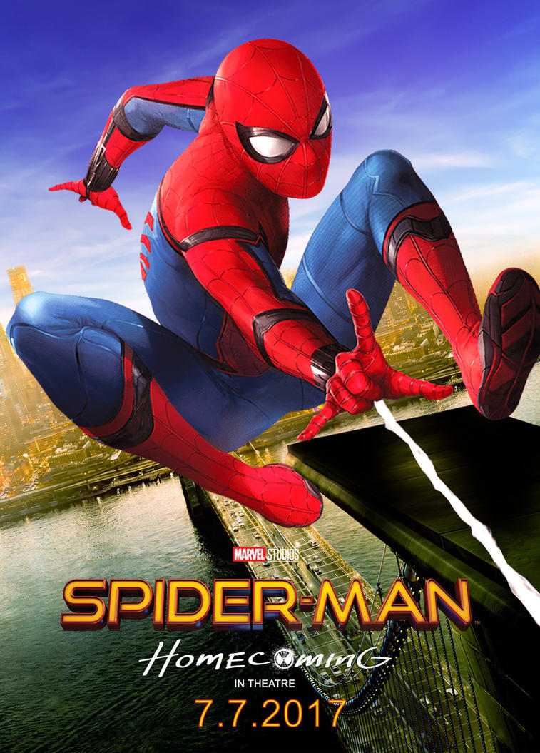 Spiderman Homecoming 2017 Poster by edaba7