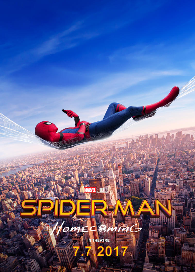 Spiderman Homecoming 2017 Poster V2 by edaba7