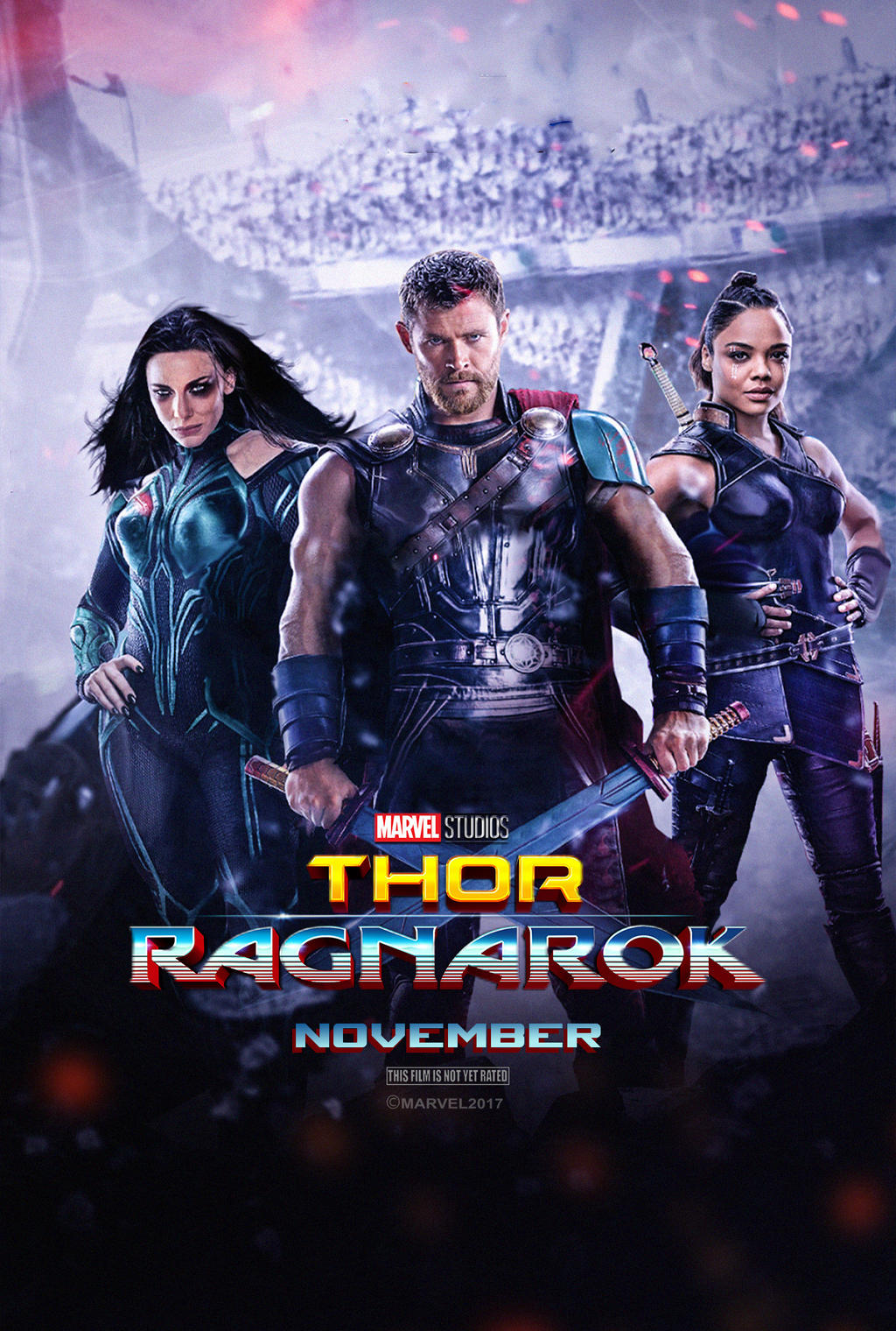 Thor Ragnarok 2017 Poster By Edaba7 On Deviantart