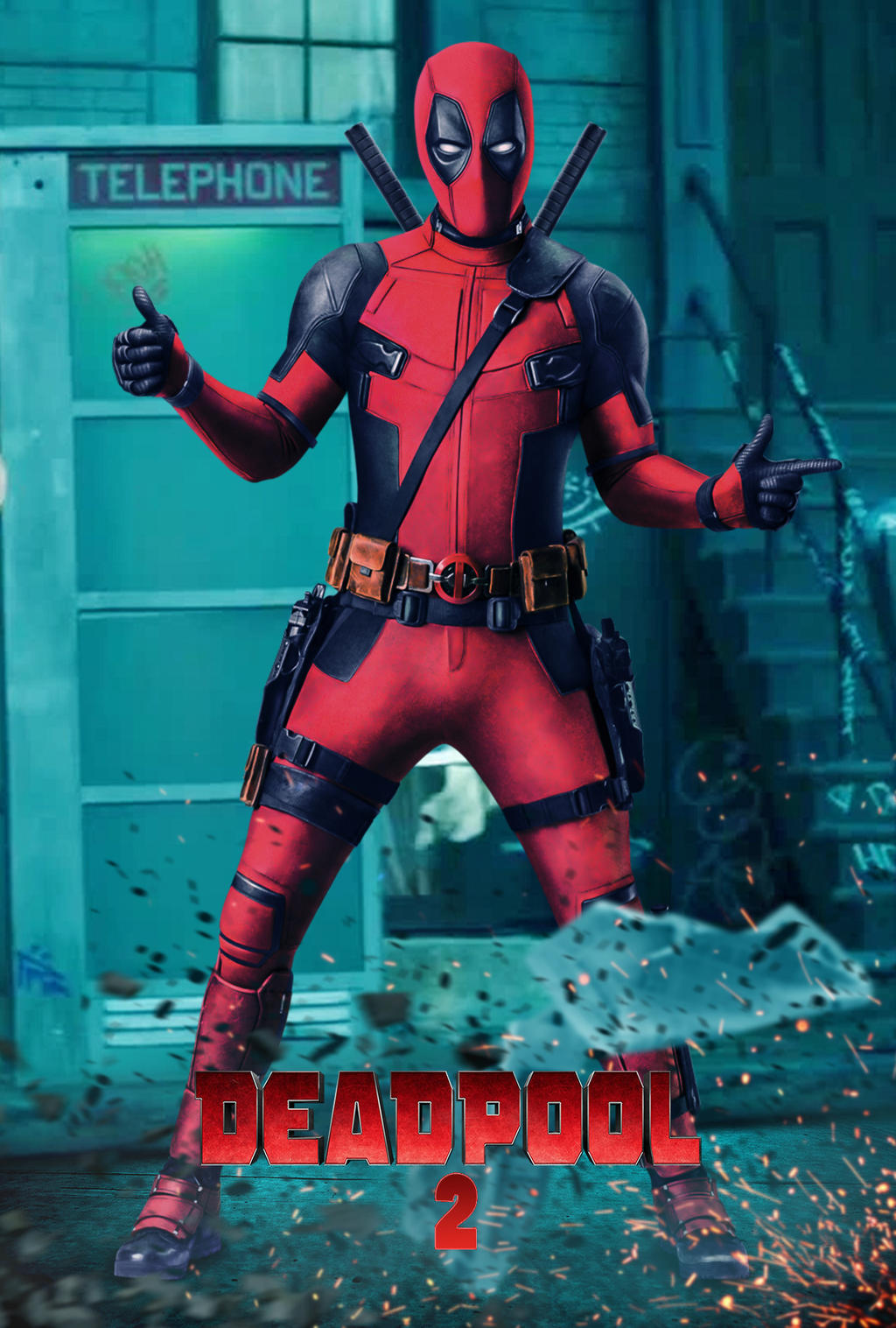 Deadpool 2 Poster 2018 by edaba7 on DeviantArt