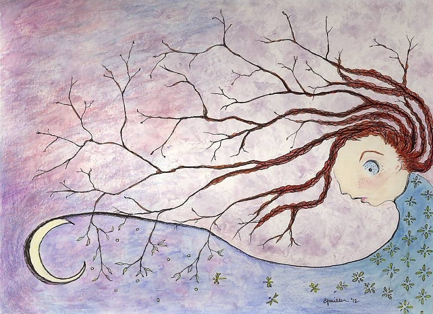 The Girl Who Was A Tree by lizjane