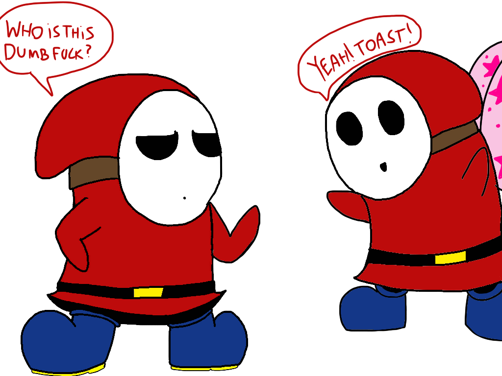 Shy guy meets smg4s Shy guy by ObscuronDark69 on DeviantArt