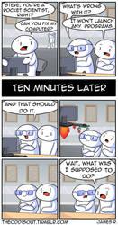 Rocket Scientist by theodd1soutcomic