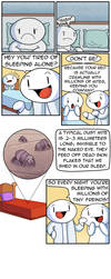 Dust Mites Are Your Friends :) by theodd1soutcomic