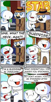 Blessing For Everyone by theodd1soutcomic