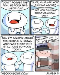 Labor Day by theodd1soutcomic