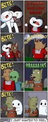 Zombie/Werewolf/Vampire/Ghost? by theodd1soutcomic