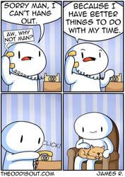 Cat Time by theodd1soutcomic