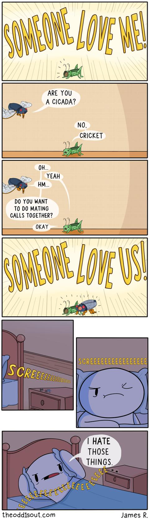 Love Me by theodd1soutcomic
