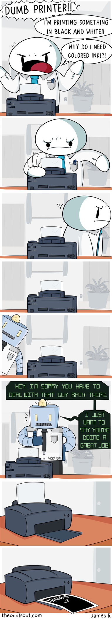 Work Bot by theodd1soutcomic