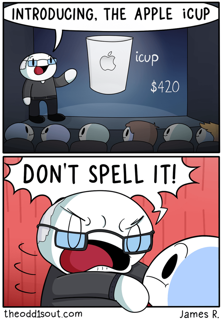 Apple icup by theodd1soutcomic on deviantart for Apple icup