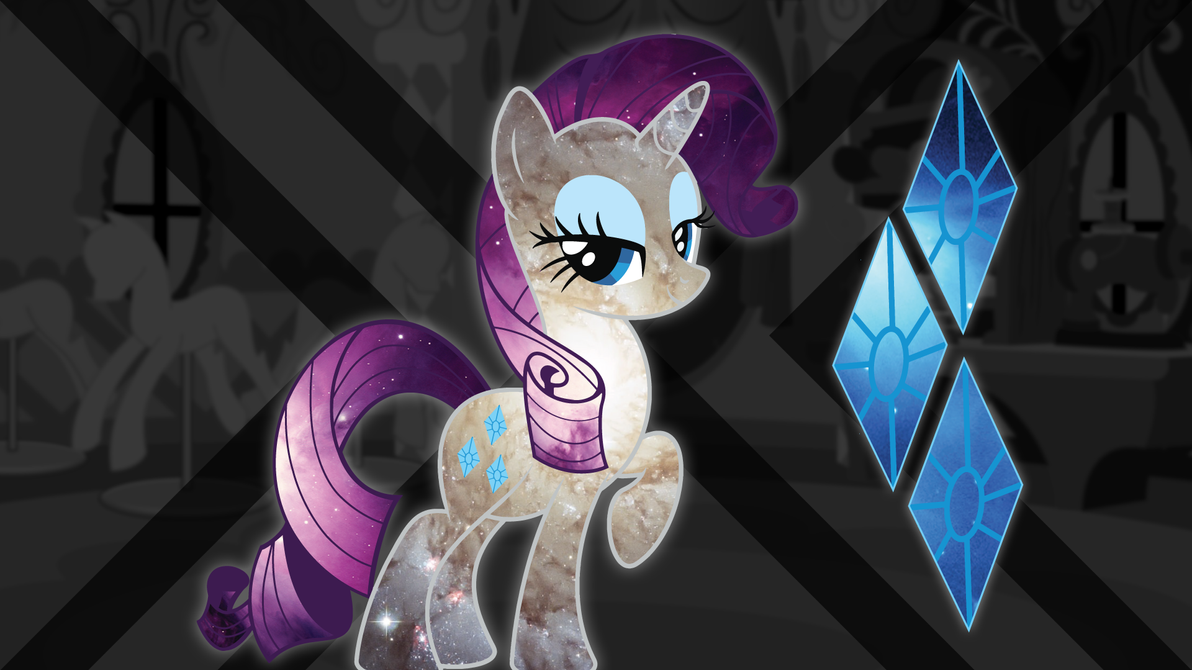 Spacey Rarity Wallpaper by ChingyPants