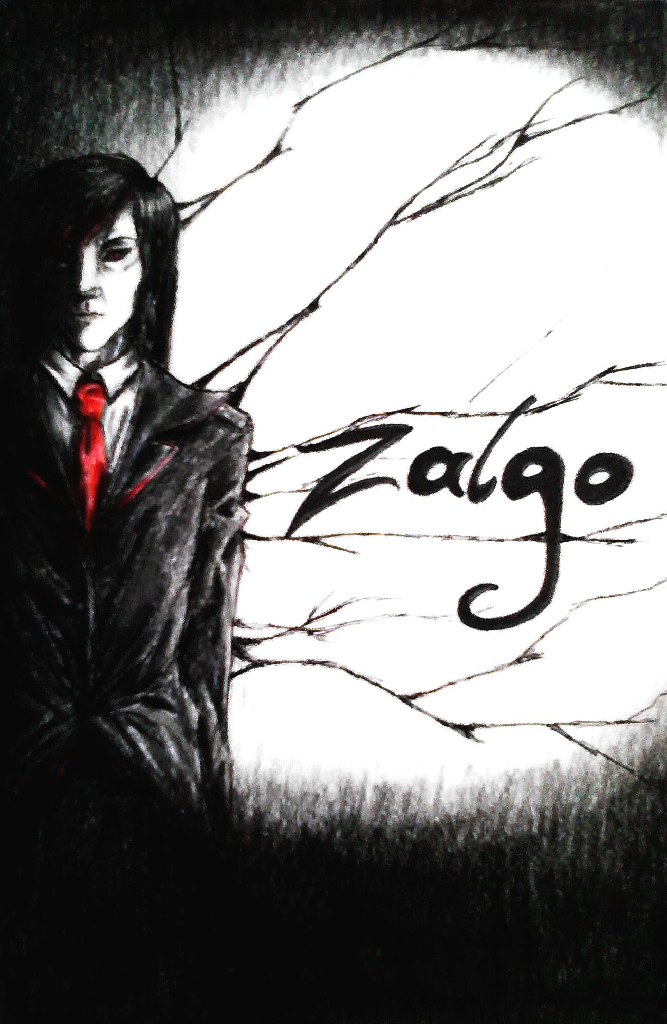 Zalgo human form by BloodHoney500 on DeviantArt