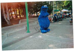 Cookie Monster by Phantomessangel