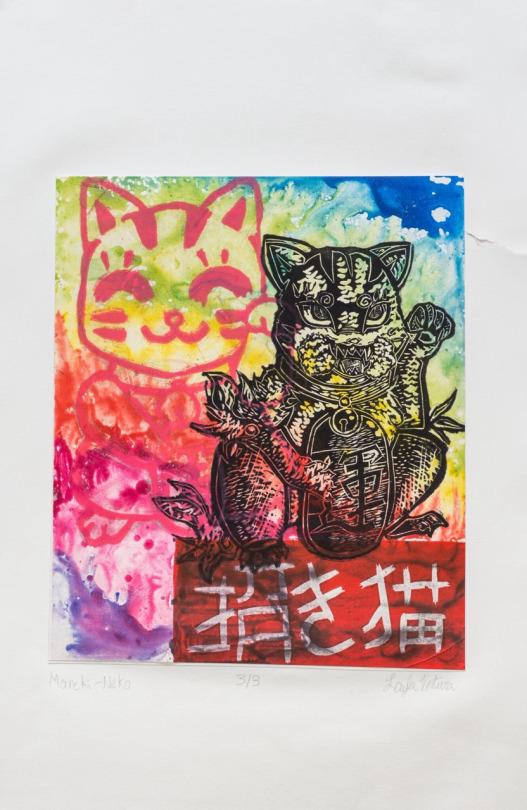 Maneki Neko (Lucky Cat) by o0oLaylao0o