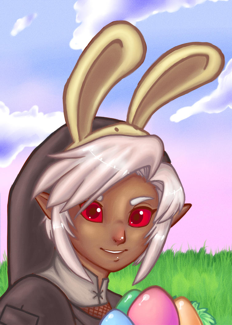 Hoppy Easter by o0oLaylao0o