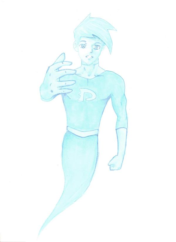Blue Danny Phantom by AdienSkates